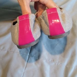 SO Shoes - So Gray Pink Flats New Kohl's SoCariGrey Juniors 9